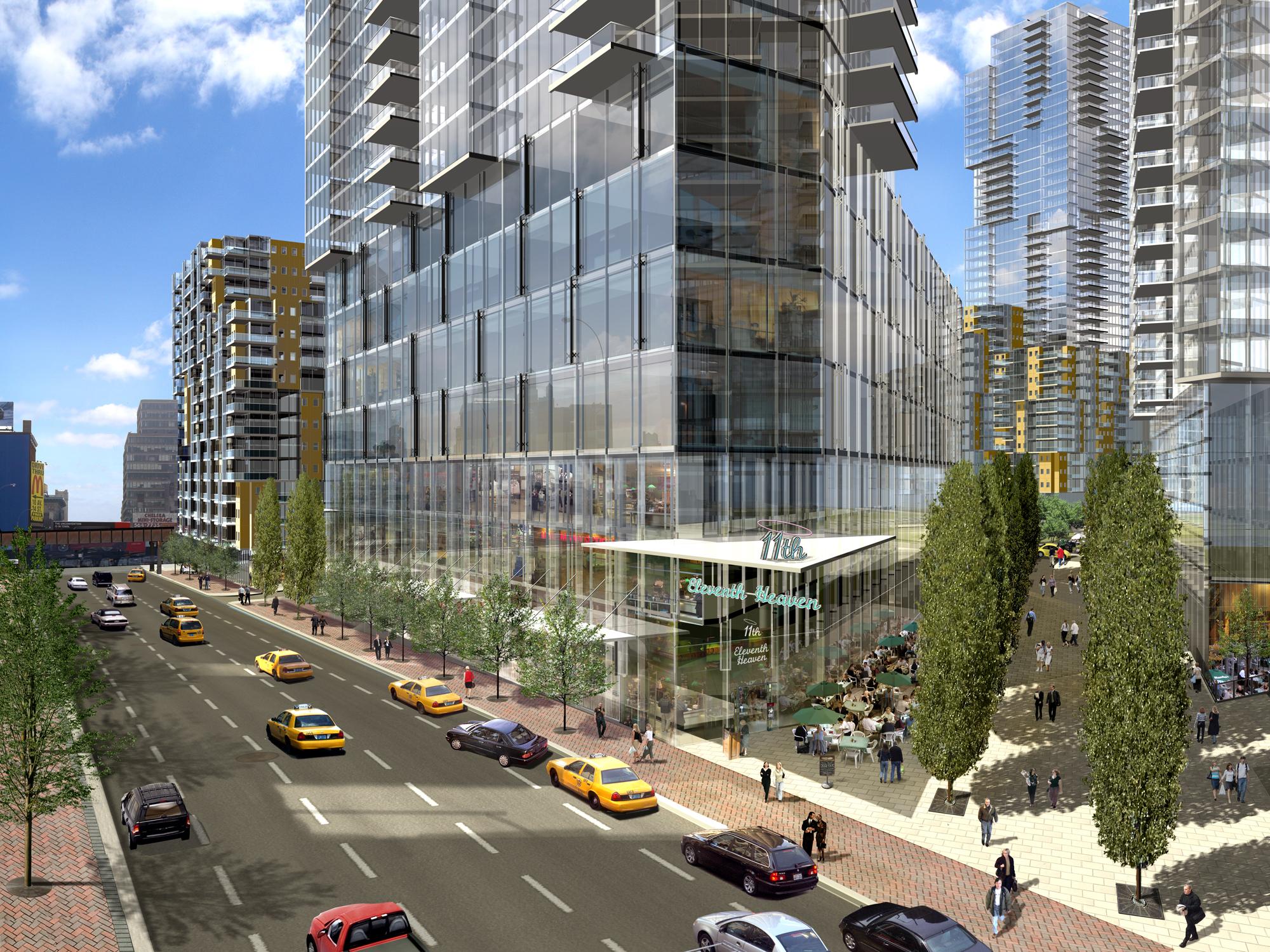 West Side Yards Masterplan